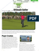 Tiger Woods PGA Tour 10 Official Game Guide - Excerpt