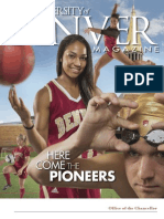 University of Denver Magazine Fall 2013