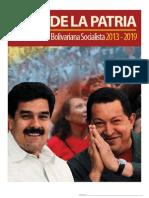 Programa Patria 2013 2019 1