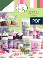 CK Catalog 2012-2013