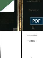 Nicolás Gómez Dávila. Textos I