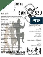 San Szu 2013 Seminars