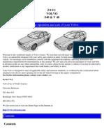 2001 Volvo S40 & V 40