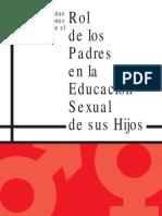 Rol de los Padres en la educación sexual de los hijos