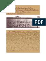 Crítica Marxista Leninista - Contra el revisionismo