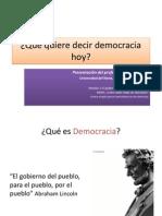 Democracia Hoy