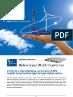 TDK TJ023 DC-DC E 1105 Bidirectional DC-DC Converters