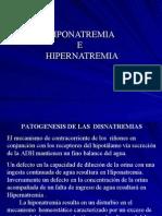 HIPONATREMIA E HIPERNATREMIA