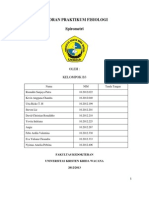 Laporan Praktikum Fisiologi - Spirometri
