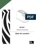 Manual Zebra HC 100-Pt