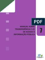 Manual Sobre Transparência e Lei de Acesso à Informação Pública