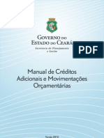 Manual de Creditos Adicionais 2012