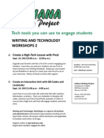 Writing Tech 2 Workshop Flyer