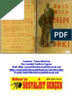 1932_Days With Lenin_Maxim Gorki