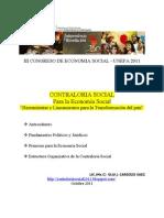 Contraloria Social Economia Social