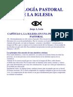 CAPÍTULO 1, LA IGLESIA EN UNA PERSPECTIVA PASTORAL; Por Jorge A. León