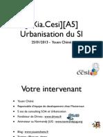 Cours Urbanisation du SI