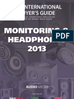 Buyers Guide Monitors Headphone2013 DIGITAL