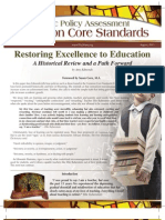 Common Core Policy Brief