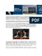 23-08-2013 Rafael Moreno Valle Blog - CREAN COMISION AMBIENTAL DE LA MEGALÓPOLIS EL PRESIDENTE PEÑA NIETO Y MANDATARIOS