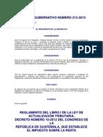 67911 Acuerdo Gubernativo 213-2013