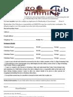 Membership Form 2013 - 2014