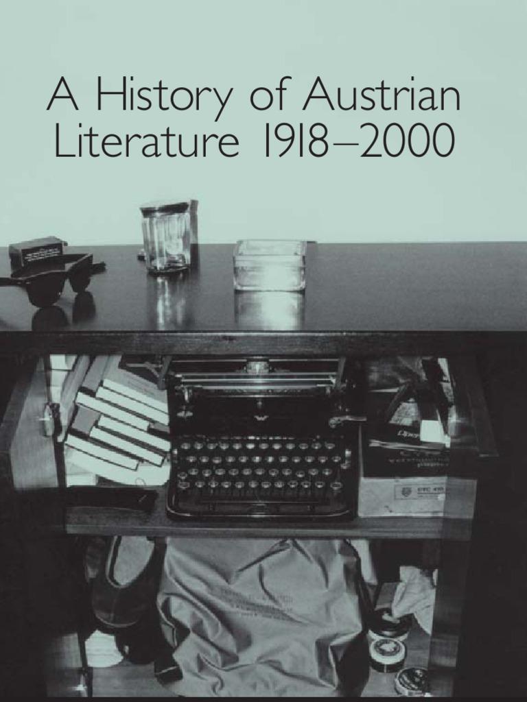 A History of Austrian Literature 1918 2000 Studies in German ...