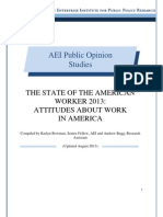 The State of the American Worker 2013