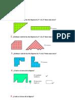 Ejercicios Area, Superficie y Volumen