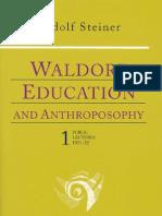 Waldorf Ed Anthro 1