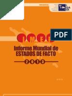 Informe Estados de Feito 2013 Castellano