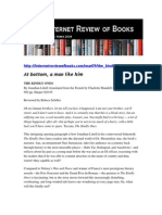 Internet Review of Books the Kindly Ones by Jonathan Littell