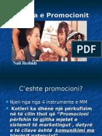 Politika e Promocionit
