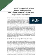 Bibliography Tematica Film Festival