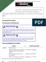 CÓDIGO DE FALLA 491