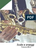 Sax-scale e Arpeggi Per Sassofono Tabella Sopracuti-f Marini 211