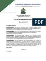 Ley de Propiedad Industrial (Actualizada-07)