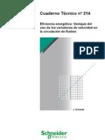 CT214_Eficiencia energética_Ventajas del uso de los variadores de velocidad en la circulacion de los fluidos