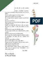 Poema de Oscar Wilde - Loucos e Santos