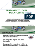 Tratamiento Local a La Flebitis