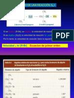 Haluros de Alquilo Sn1