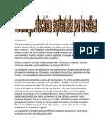 Proyecto de Investigacion Sobre La Energia Eolica.
