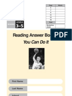 2004 Reading Answer Booklet