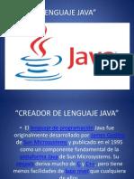 Lenguaje Java