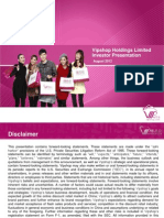 VIPS Investor Presentation 08 2012