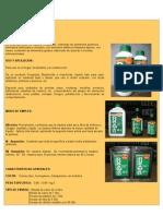 Productos Quimicos Usados en El Mercado