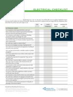 Electrical Checklist Fnl