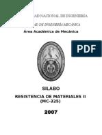 MC325ResistenciadeMaterialesII