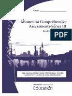 Minnesota Comprehensive Assessments - Series III