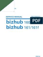 Manual de Servicio2 Bizhub 160